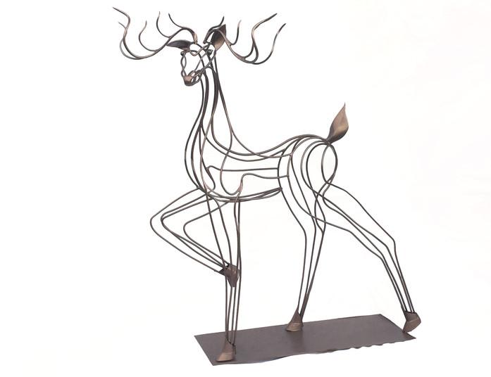 QuinnMorrissetteStudio_Sculpture_DarlingtheDeer_01