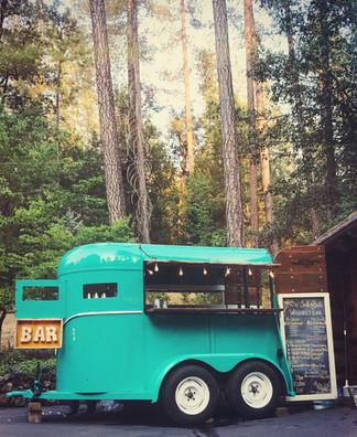 September- Weddings Galore! A horse trailer bar