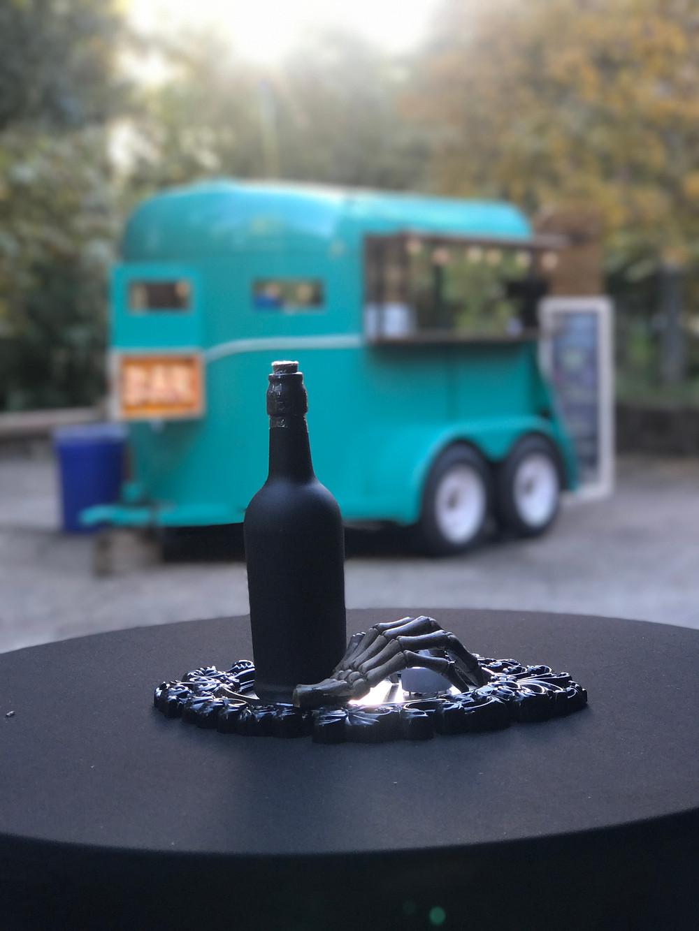 The Rollin Bar horse trailer bar