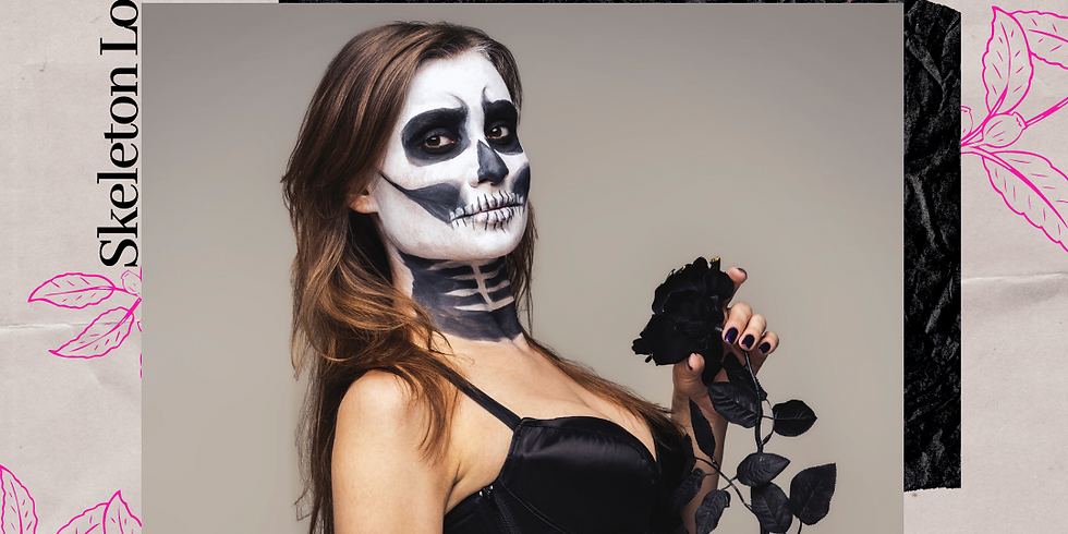 """""""Get Ready with Me"""" Glam Series: Spooky Skeleton"""