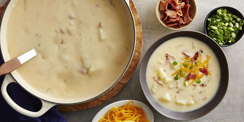 Winter Warmers: Loaded Baked Potato Soup