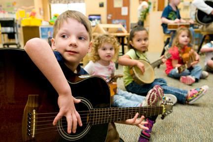 Μουσικές δραστηριότητες για παιδιά