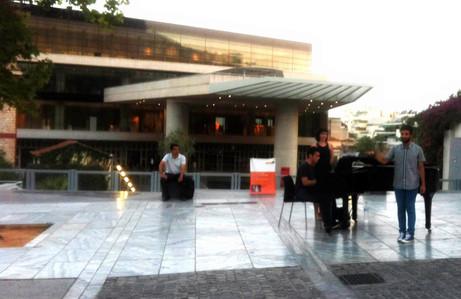 Μουσείο της Ακρόπολης με νέους ανερχόμενους καλλιτέχνες