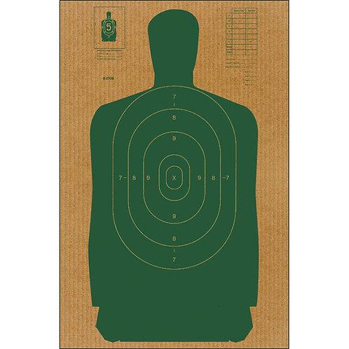 B27 Cardboard Target
