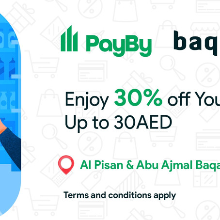 30% off Your Baqala Order