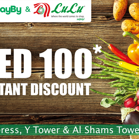 Up to AED 100 OFF at Lulu Express