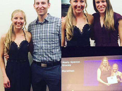Neely Spence Gracey is SportsWomen of Colorado Marathoner of the Year