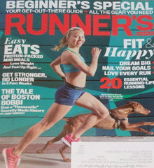 Runners World Magazine Features Neely Spence Gracey