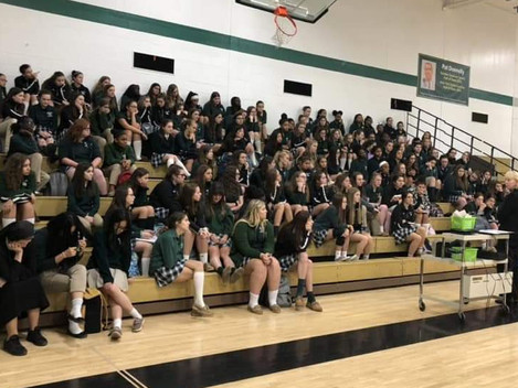 Bishop Ludden Jr.-Sr. High School Female Students Get Energized About What Fuels One's Passion