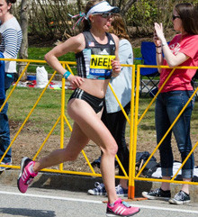 Neely Spence Gracey is top American female finisher at Boston Marathon 2016 and 2nd American Woman,