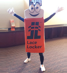 The Debut Of LOCKIT The LaceLocker® Mascot