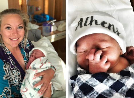 Neely Spence Gracey Welcomes Baby Boy!
