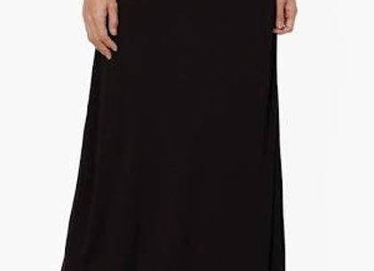 Classic Black Maxi Skirt