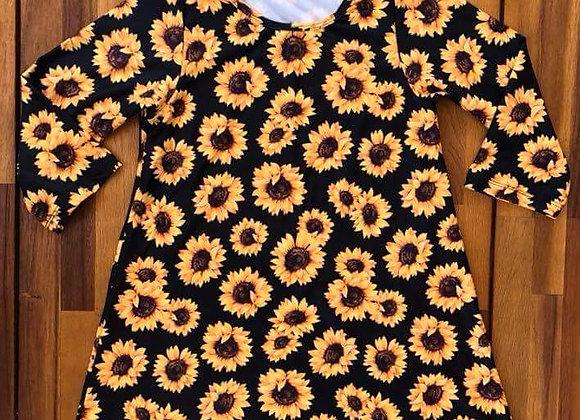 Girl's Sunflower Dress