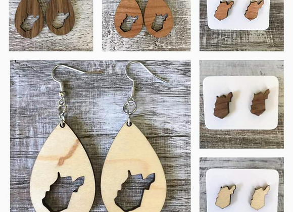 West Virginia Handmade Earrings