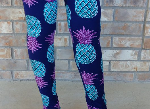 Purple/Teal Pineapples