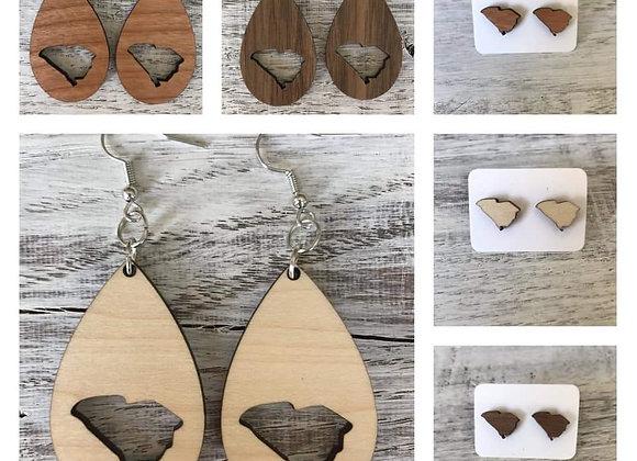 South Carolina Handmade Earrings