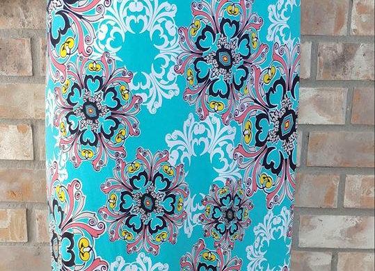 Tropical Floral Maxi Skirt