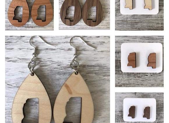 Mississippi Homemade Earrings