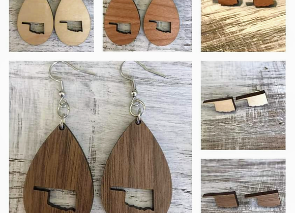 Oklahoma Handmade Earrings