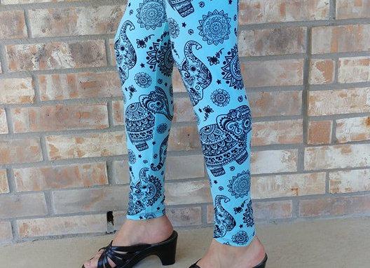 Tiffany Blue Elephants