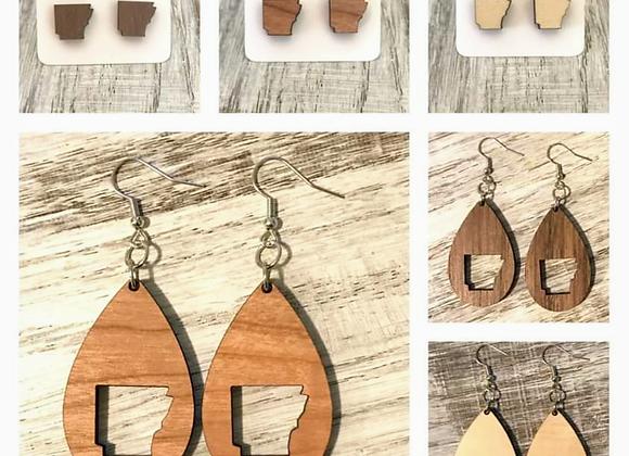 Arkansas Handmade Earrings