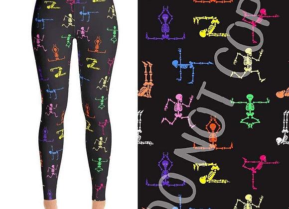 Yoga Skeletons