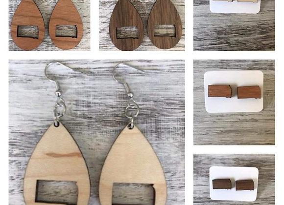 South Dakota Homemade Earrings