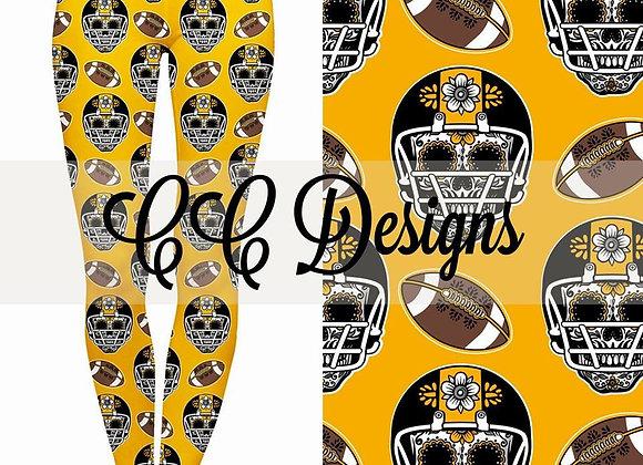 Football Helmets (Yellow)