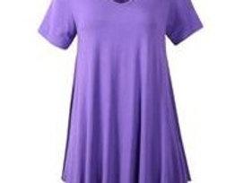 Violet V-Neck Tunic