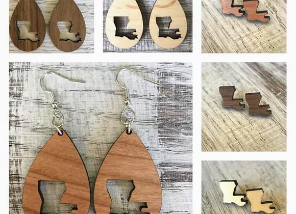 Louisiana Handmade Earrings