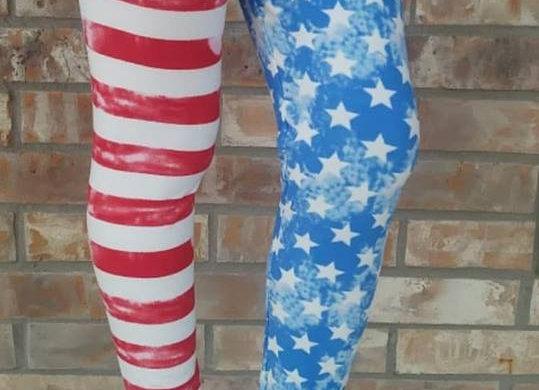 Dual American Flag