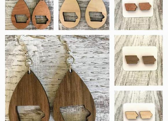 Iowa Handmade Earrings