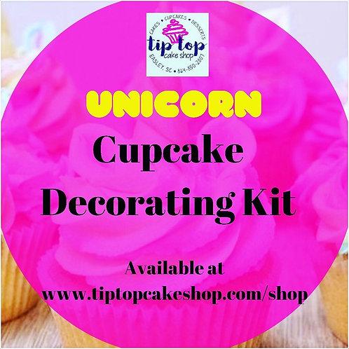 Unicorn DIY Cupcake Decorating kit