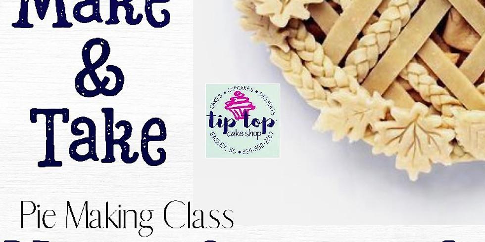 Make and Take Pie Making Class