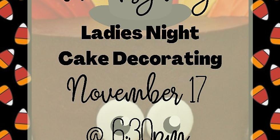 (EVENT FULL) Thanksgiving Ladies Night