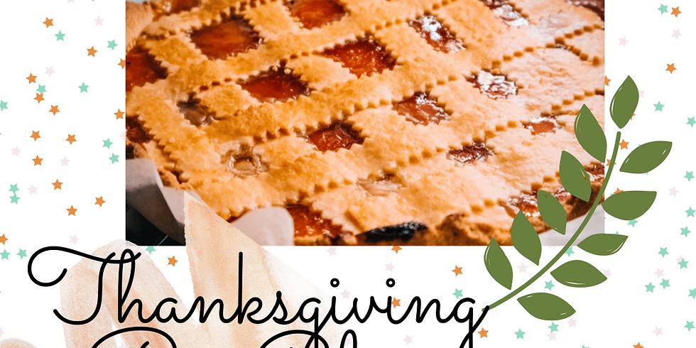 Thanksgiving PIE CLASS!