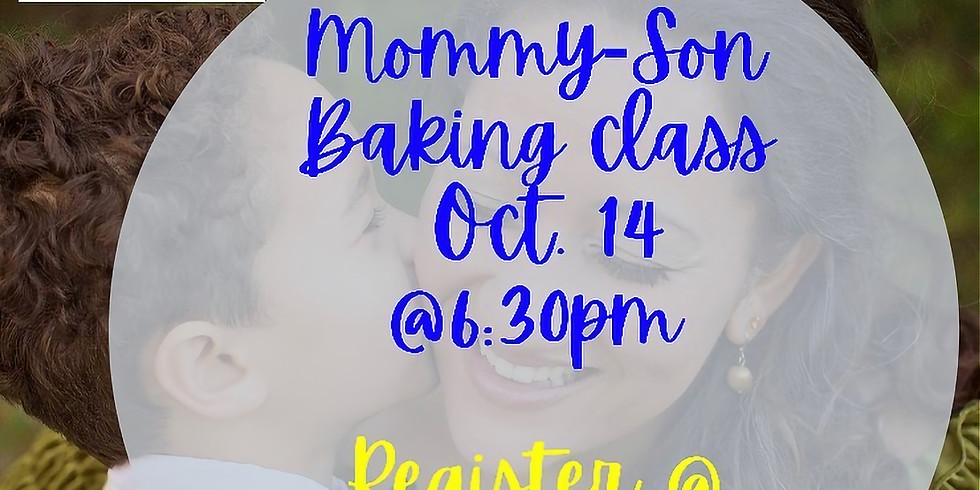 Mommy/Son Baking Class