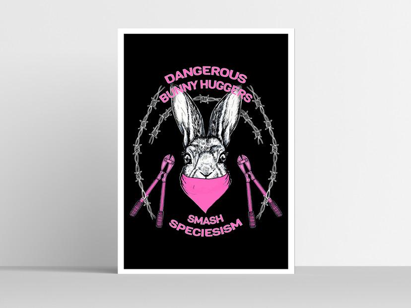Pink Smash Speciesism Print