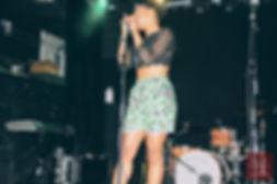 Priscila Bieni performing in Edmoton 2017