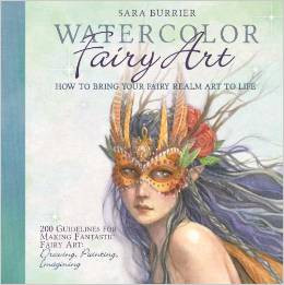 Watercolor Fairy Art Book