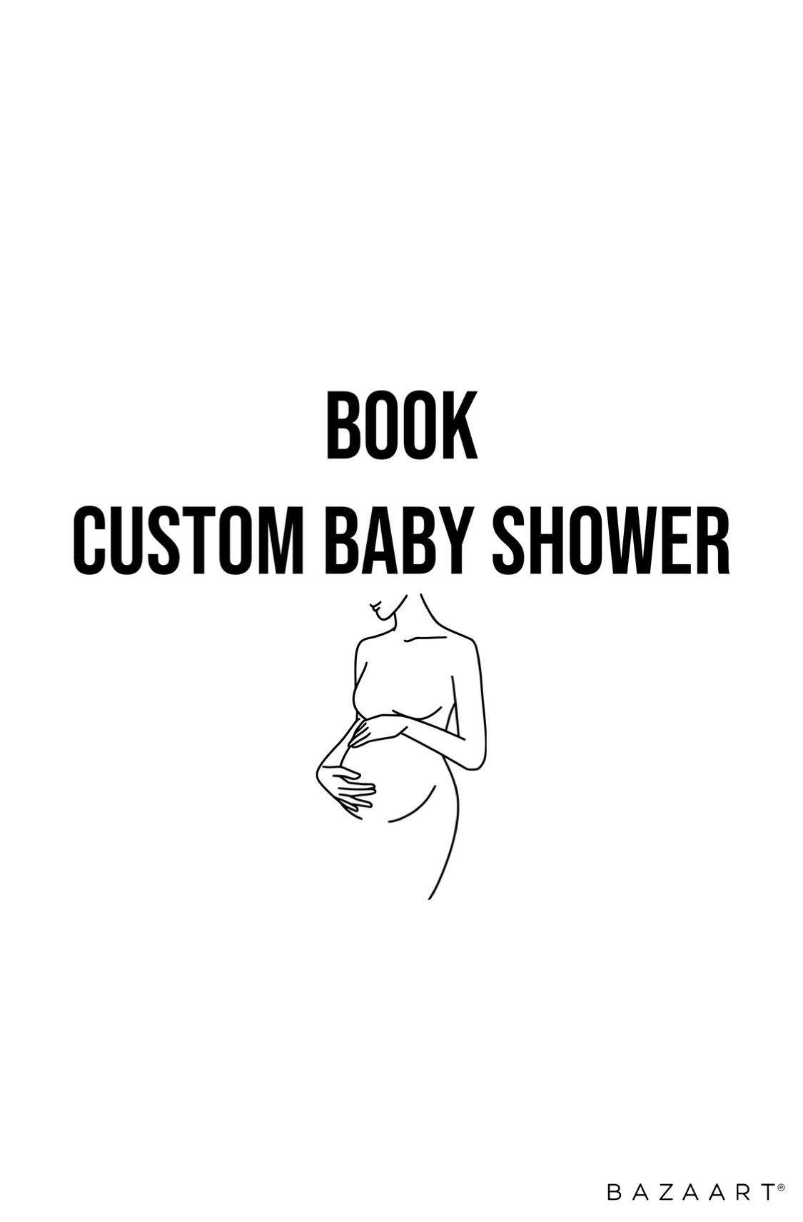 Custom Baby Shower
