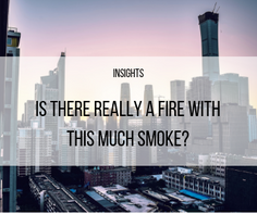 Is there really a fire with this much smoke?