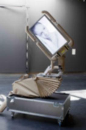 Corpus S1-11 Sculpture mécatronique relationnelle