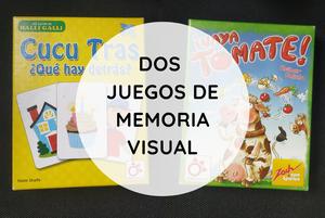 Juegos de mesa para trabajar la habilidad de percepción visual, memoria visual.