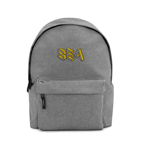 SEA Embroidered Backpack