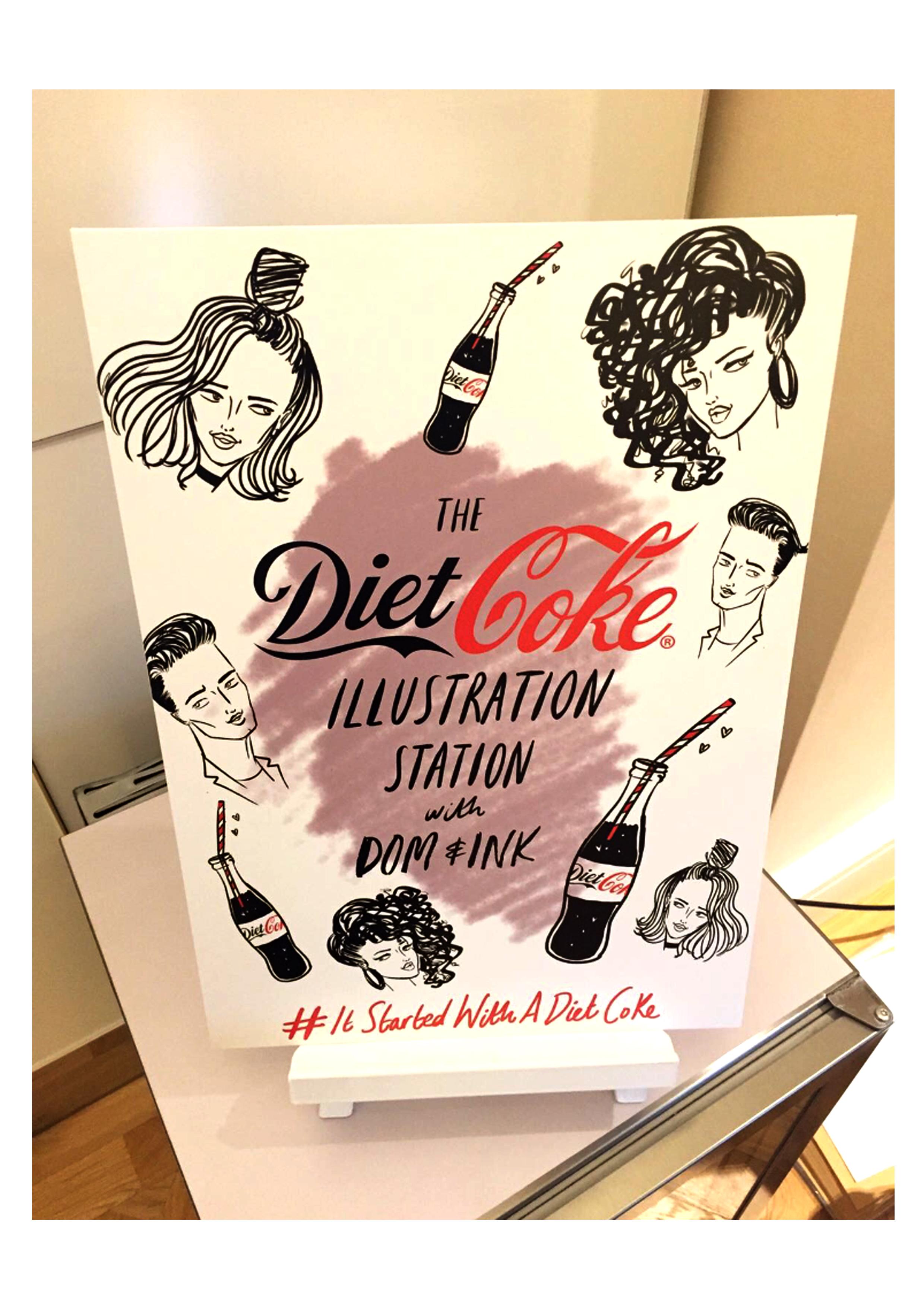 Wix diet coke