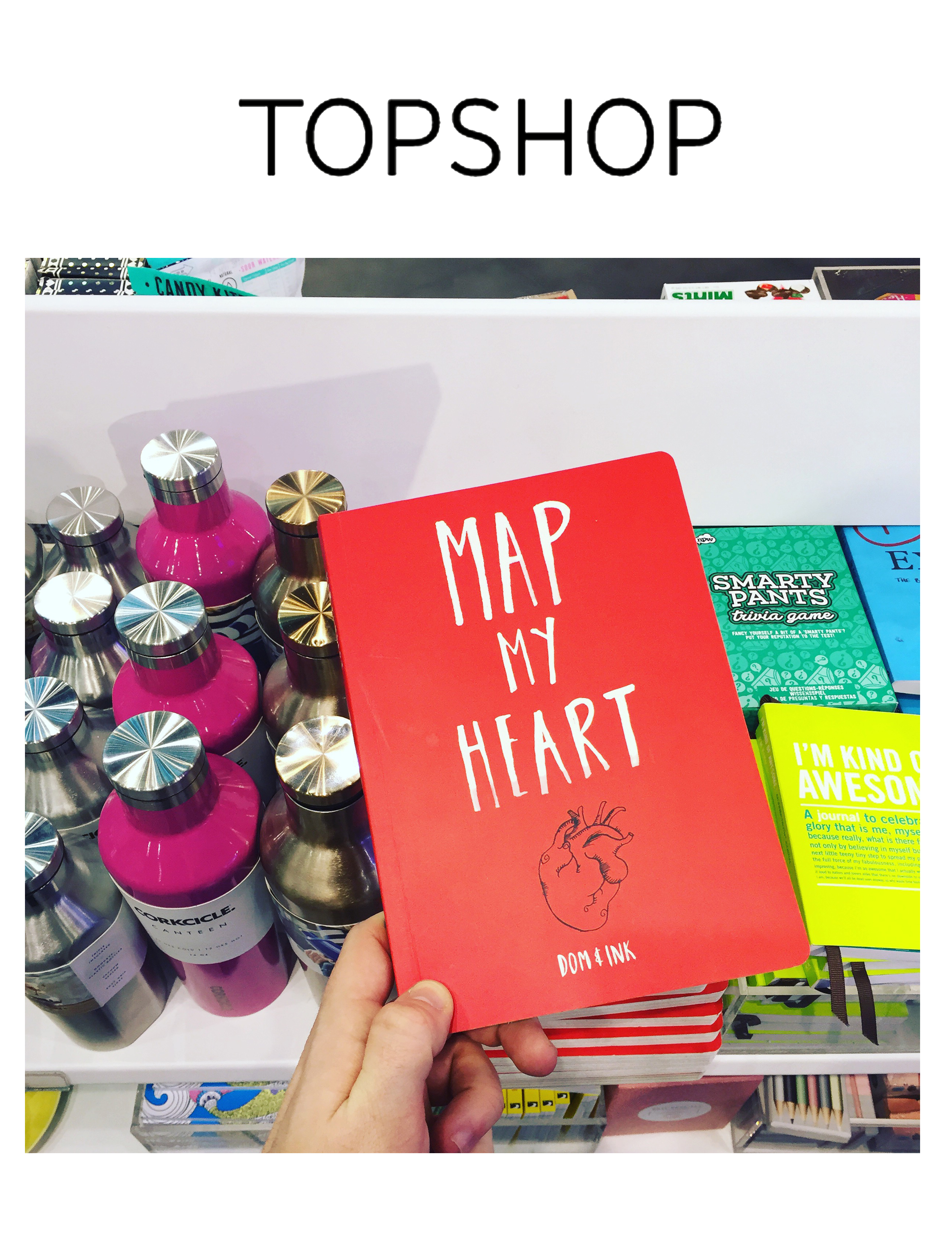 My book hits TOPSHOP