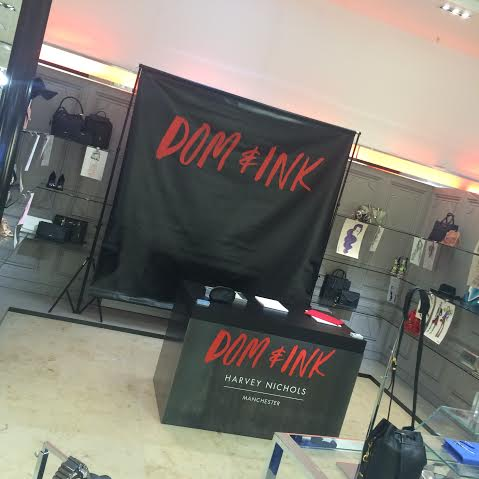 Harvey Nichols x DOM&INK