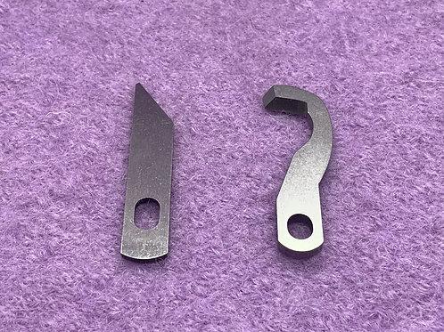 Ober & Untermesser für Gritzner 788 Overlockmaschinen